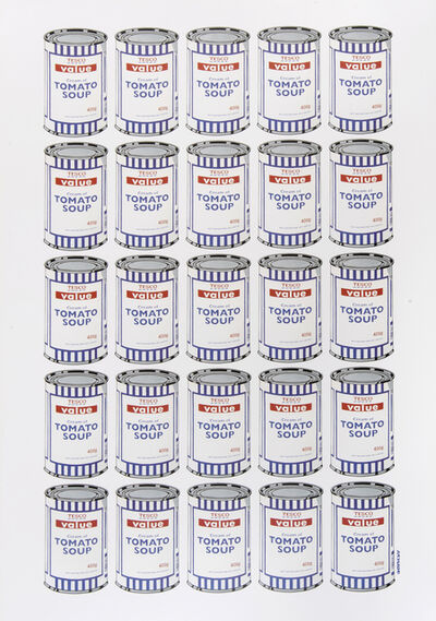 Banksy, 'Soup Cans Poster', 2010
