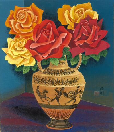 Kuo Hsueh-Hu 郭雪湖, 'Roses', 1965