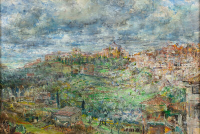 John Cobb, 'View of Siena from the French Plaza', 2018