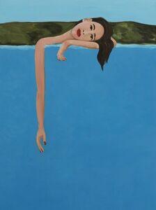 Becky Kolsrud, 'Resting Bather ', 2018
