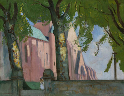 Maurice Denis, 'Notre-Dame de Kernitron, Bretagne', 1918