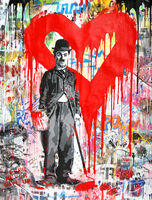 Mr. Brainwash, 'Chaplin', 2018