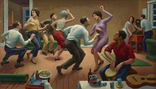 Thomas Hart Benton, 'The Twist', 1963