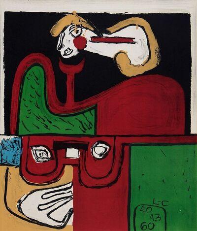 Le Corbusier, 'Portrait', 1960