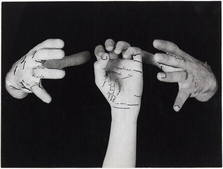 Ketty La Rocca, 'Le mie parole', 1973