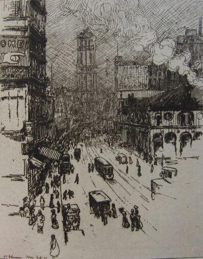 Jean-Emile Laboureur, 'Broadway, New York', 1907
