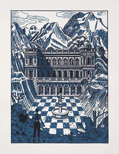 Adam Dant, 'The Discovery of Burlington House', 2016