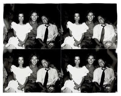 Andy Warhol, 'Bianca Jagger, Rex Smith and Steve Rubell', ca. 1981