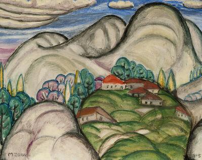 Marguerite Zorach, 'Jimtown (New England Landscape)', 1915