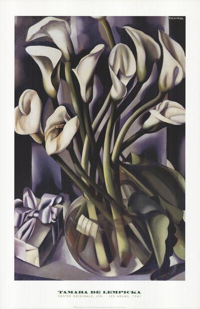 Tamara de Lempicka, 'Les Arums', 1998
