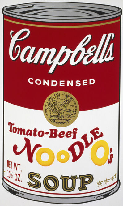 Andy Warhol, 'Campbell's Soup II: Tomato-Beef Noodle O's ', 1969