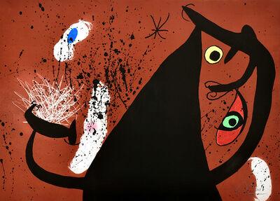 Joan Miró, 'Frappeause de Silex (Flint Strike)', 1973