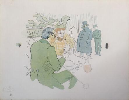 Henri de Toulouse-Lautrec, 'Snobisme', 1897