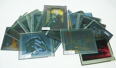Mark Kostabi, 'Lot of 20 artworks on negative photographic film', 2009-2012