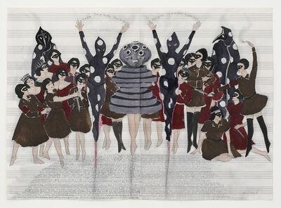 Marcel Dzama, 'The Spirit of Smiling Hypocrisy', 2011