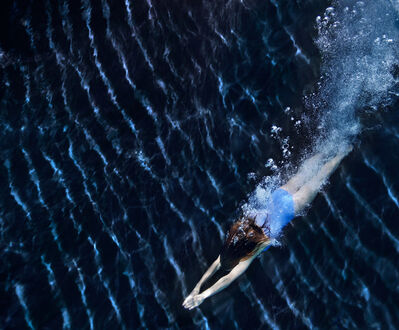 Howard Schatz, 'Underwater Study #3024'