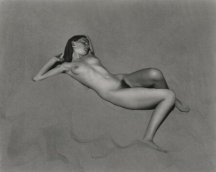 Edward Weston, 'Nude (Charis on Dunes), Oceano', 1936-printed 2000 by Cole Weston