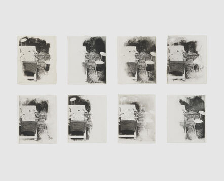 Shelagh Wakely, 'Another person's garden III', 1975