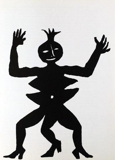 Alexander Calder, 'Alexander Calder Lithograph, Derriere Le Miroir (Calder prints)', 1975