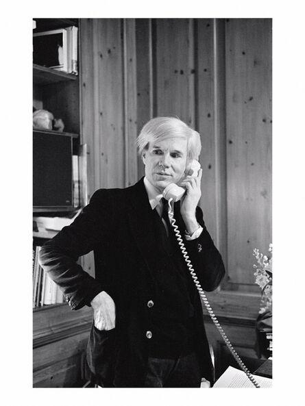 """Elizabeth Lennard, '""""Andy Warhol on the Telephone""""', 1979"""