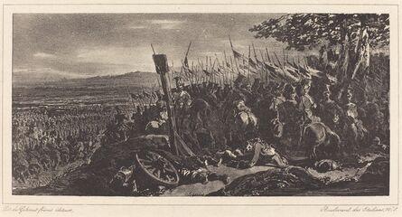 Nicolas-Toussaint Charlet, 'Battle Scene'