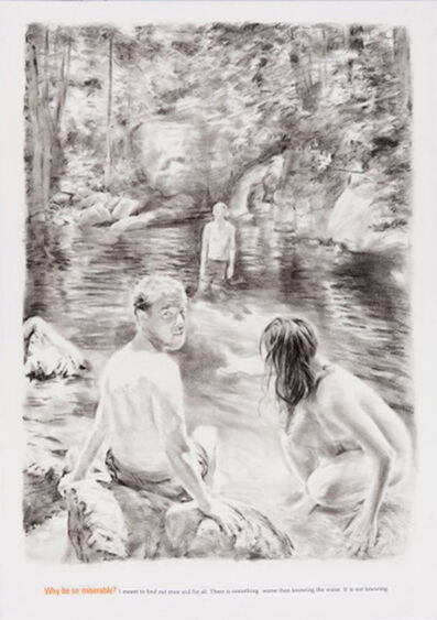 Muntean & Rosenblum, 'Untitled (Not knowing why...)', 2013