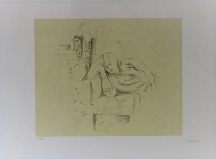 Balthus, 'Girl Resting', 1994