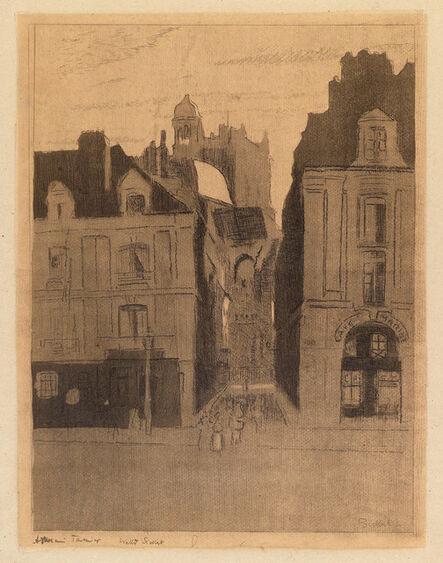 Walter Richard Sickert, 'Dieppe, La rue Notre Dame', 1909