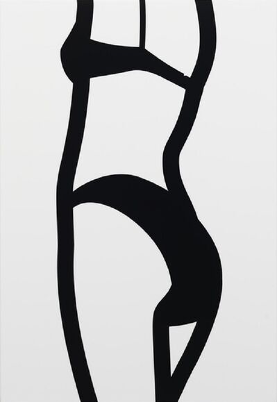 Julian Opie, 'Watching Suzanne (back) 10 (2006) (signed)', 2006