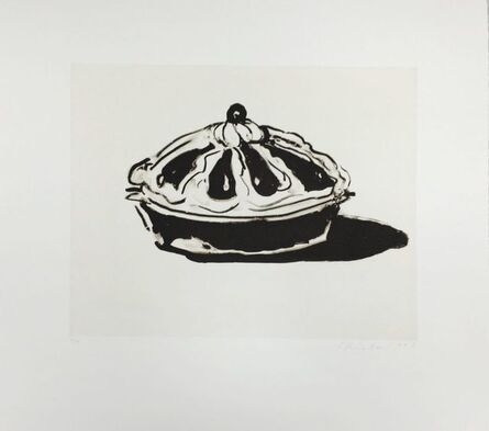 Wayne Thiebaud, 'Crown Tart', 2015