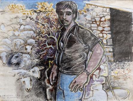 John Craxton, 'Cretan Shepherd', 1984