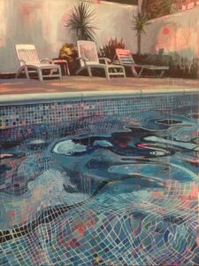 Lucinda Metcalfe, 'Cool Water (SOLD)'