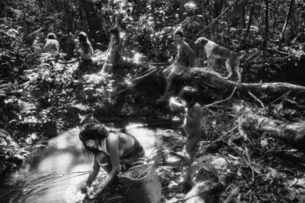Sebastião Salgado, 'Scene near the Marubo Maronal village, Amazonas, Brazil', 1998