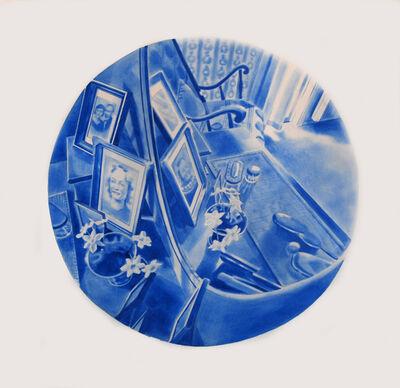 Kristina Bength, 'Cobalt; Ferromagnetic, Hexagonal, Close-Packed #7', 2017