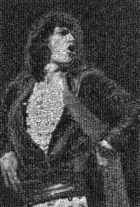 Lynn Goldsmith, 'Mick Jagger Hands on Hips Mosaic'