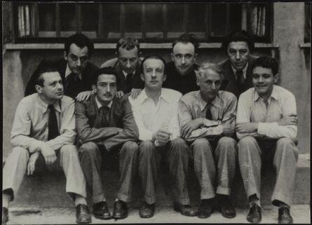 Man Ray, 'Nine Members of the Surrealist Group', ca. 1926