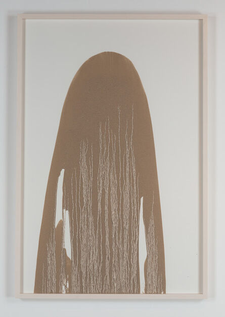 Richard Long, 'Untitled (Mud Drawing)', 2013
