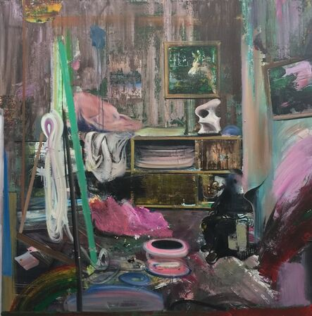 Yin Chaoyu, '室内景 Indoor Scene', 2017