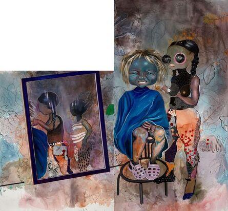 Ndidi Emefiele, 'Road side pixie cut', 2020