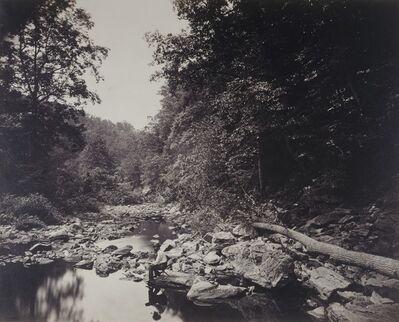 John Moran, 'The Wissahickon Creek near Philadelphia', ca. 1865
