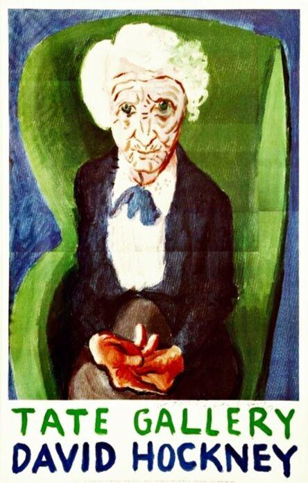 David Hockney, 'My Mother (Bridlington)', 1988