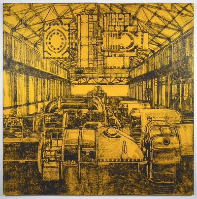 Matt Mullican, 'Untitled (Yellow Generator Room)', 1989