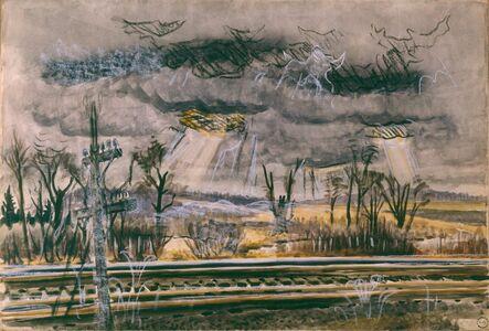 Charles Ephraim Burchfield, 'November Railroad-Mood', 1946