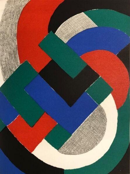 Sonia Delaunay, 'Composition géométrique', 1969