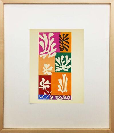 Henri Matisse, 'Fleurs De Neige', 1958
