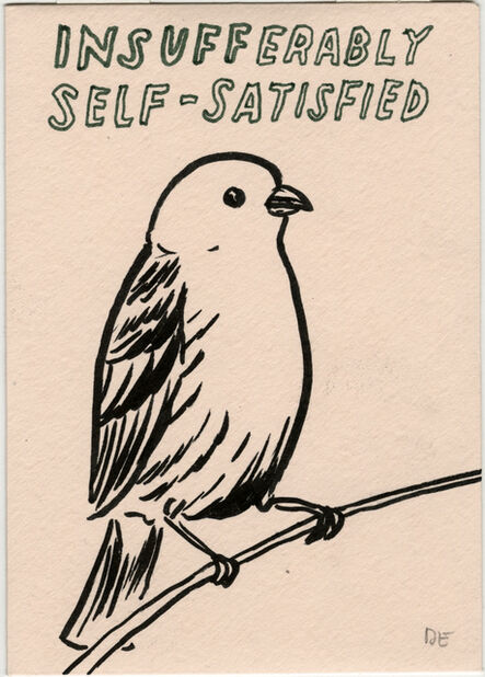 Dave Eggers, 'Untitled (Insufferably Self-Satisfied)', 2020