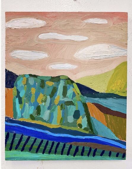 Abel Macias, 'Quilted Hills', 2020