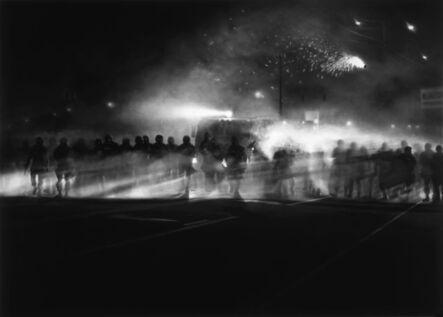 Robert Longo, 'Untitled (Ferguson Police, August 13, 2014)', 2014