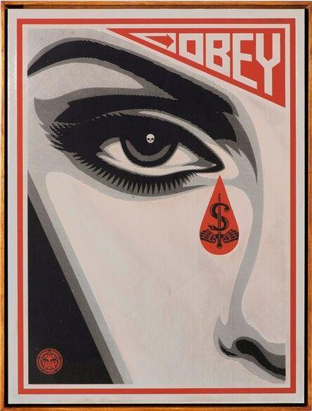 Shepard Fairey, 'Eye Alert (left)', 2010