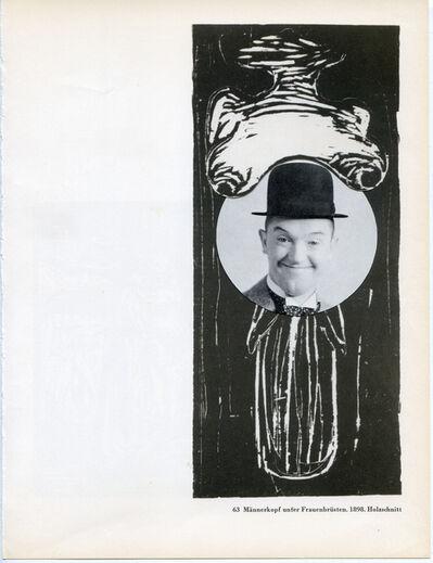 Hank Schmidt in der Beek, 'Collage Nr. 496 (Doof/Munch)', 2011